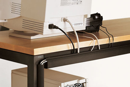 contemporary cable management by Room &amp; Board
