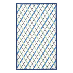 Safavieh - Kids Safavieh Kids 8'x10' Rectangle Ivory-Blue Area Rug - The Safavieh Kids area rug Collection offers an affordable assortment of Kids stylings. Safavieh Kids features a blend of natural Ivory-Blue color. Hand Tufted of Wool the Safavieh Kids Collection is an intriguing compliment to any decor.