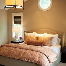 Craftsman Bedroom by Sheila Mayden Interiors