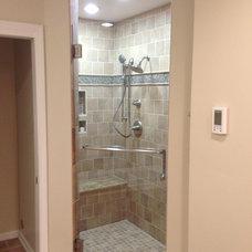 Modern Showers by Carolina Cabinets Inc.