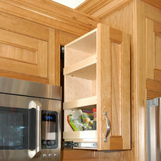 Traditional Kitchen Drawer Organizers by Unique Design Cabinets
