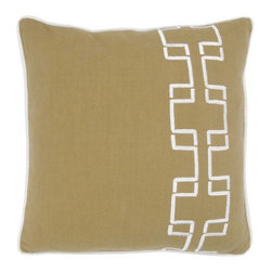 Rizzy Home - Sage and White Decorative Accent Pillows (Set of 2) - T03562 - Set of 2 Pillows.