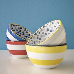 Dots + Stripes Bowls