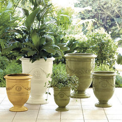 Ballard Designs - Toulon Planter - Make the scene even prettier with flowers overflowing from one of these gorgeous planters.
