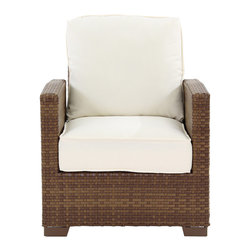 Panama Jack - Panama Jack St Barths Recliner Lounge Chair with Cushion - Escape to your very own Caribbean paradise with The St Barths collection by Panama Jack. The Recliner Lounge Chair incorporates an extruded aluminum frame with an exclusive thick woven wicker fiber from Viro and is strong and durable.
