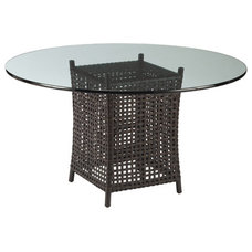 Traditional Outdoor Dining Tables by McGuire Furniture Company