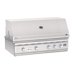 "Summerset Grills - 38"" TRL Stainless Steel Propane Gas Grill - #304 & #443 Stainless Steel Construction"
