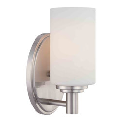 Thomas Lighting - Pittman Wall Sconce - Thomas Lighting 190023217 Pittman Brushed Nickel Wall Sconce