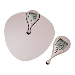 Escali Body Mass Index Scale - Checking the numbers: This scale calculates your BMI by taking your height into account when measuring your weight and puts the results in the palm of your hand via a remote receiver.