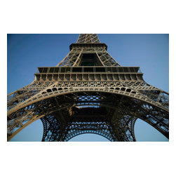 Custom Photo Factory - Eiffel Tower, Paris, France, Low Angle View Canvas Wall Art - Eiffel Tower, Paris, France, Low Angle View  Size: 20 Inches x 30 Inches . Ready to Hang on 1.5 Inch Thick Wooden Frame. 30 Day Money Back Guarantee. Made in America-Los Angeles, CA. High Quality, Archival Museum Grade Canvas. Will last 150 Plus Years Without Fading. High quality canvas art print using archival inks and museum grade canvas. Archival quality canvas print will last over 150 years without fading. Canvas reproduction comes in different sizes. Gallery-wrapped style: the entire print is wrapped around 1.5 inch thick wooden frame. We use the highest quality pine wood available. By purchasing this canvas art photo, you agree it's for personal use only and it's not for republication, re-transmission, reproduction or other use.
