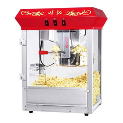 Great Northern Popcorn - Great Northern Popcorn GNP-850 All Star Classic Style Popcorn Top Multicolor - 6 - Shop for Popcorn Makers from Hayneedle.com! This is the alpha and omega of popcorn poppers: the Great Northern Popcorn GNP-800 All-Star Popcorn Popper Machine & Cart. This classic machine makes it easy to create delicious cinema-style popcorn at home. Just pour the kernels in the kettle let them pop and serve up some fine popcorn. An excellent idea for family movie nights and parties! Includes 25 bags of popcorn!Additional features:820 watts works on 110-volt outletsScratch-resistant tempered glass doorsWhisper-quiet operationScoop includedReject kernel trayMinor assembly requiredAbout Great Northern Popcorn CompanyDesigned with both the home user and concession specialist in mind Great Northern Popcorn Company s popcorn makers hot dog rollers snow cone makers cotton candy machines and other treat- making equipment all have a reputation for quality selection and excellence. So whether you re an at-home enthusiast or hoping to get a foot in the world of concessions Great Northern Popcorn Company has the machine for you!