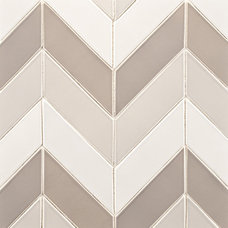 Contemporary Tile by Rebekah Zaveloff | KitchenLab