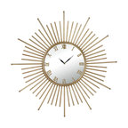 Sterling Industries - Sterling Industries 132-004 Mid Century Style Wall Clock - Clock (1)