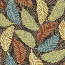 """Loloi Rugs - Loloi Rugs Tropez Collection - Brown/Multi, 3'-6"""" x 5'-6"""" - �Set the foundation for an island lifestyle with our Tropez Collection. Hand hooked in China of 100% polypropylene, Tropez features tropical inspired design with trending-now colors suited for outdoor living. Take a closer look (or zoom in), and you'll notice the use of mixed yarns that give Tropez a refined color blend. And like all of our indoor/outdoor rugs,Tropez is easy to clean and will withstand any rain or sunshine."""