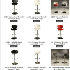 Modern Bar Stools And Counter Stools by Khrome Studios