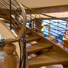 Traditional Staircase by Seattle Stair & Design