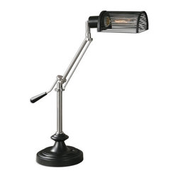 Uttermost - Uttermost 29331-1 Barnsley 1 Light Table Lamp - Features:
