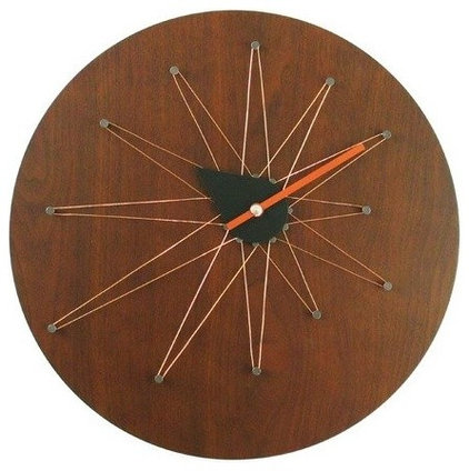 eclectic clocks by Walmart