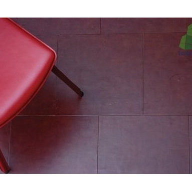 Leather Tiles - If you want a luxury tile that just happens to be a GREEN tile then this is the tile for you. Each tile uses Recycled Leather scraps from furniture, shoe, or other factories and grinds them to shreds. It then uses natural binding ingredients like Acacia Wood Bark and Rubber to mix the leather tile with.
