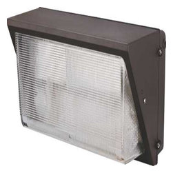 """MONUMENT - Monument Metal Halide Wall Pack Aluminum Body With Tempered Glass Bronze Mh 250 - Metal Halide Wall Pack Aluminum housing with Bronze Finish comes with tempered glass lens Dimensions: 18-1/8""""W X 9-1/2""""L X 9""""D Porcelain mogul lamp socket with aluminum reflector Metal Halide 250 Watt mogul base pulse start type M153/M138 lamp included UL listed for 120/208/240/277 Volt quad tap ballast used with a lamp igniter(IGN 30N) 35-400 Watt UL listed for """"Wet Locations"""" 1 Year Warranty - Manufacturer: Monument"""