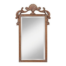 Murray Feiss - Murray Feiss Traditional Rectangular Mirror X-GA8811RM - Murray Feiss Traditional Rectangular Mirror X-GA8811RM