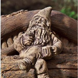 Campania International - Campania International Glimtwiss The Gnome Resting Cast Stone Garden Statue - S- - Shop for Statues and Sculptures from Hayneedle.com! About Campania InternationalEstablished in 1984 Campania International's reputation has been built on quality original products and service. Originally selling terra cotta planters Campania soon began to research and develop the design and manufacture of cast stone garden planters and ornaments. Campania is also an importer and wholesaler of garden products including polyethylene terra cotta glazed pottery cast iron and fiberglass planters as well as classic garden structures fountains and cast resin statuary.Campania Cast Stone: The ProcessThe creation of Campania's cast stone pieces begins and ends by hand. From the creation of an original design making of a mold pouring the cast stone application of the patina to the final packing of an order the process is both technical and artistic. As many as 30 pairs of hands are involved in the creation of each Campania piece in a labor intensive 15 step process.The process begins either with the creation of an original copyrighted design by Campania's artisans or an antique original. Antique originals will often require some restoration work which is also done in-house by expert craftsmen. Campania's mold making department will then begin a multi-step process to create a production mold which will properly replicate the detail and texture of the original piece. Depending on its size and complexity a mold can take as long as three months to complete. Campania creates in excess of 700 molds per year.After a mold is completed it is moved to the production area where a team individually hand pours the liquid cast stone mixture into the mold and employs special techniques to remove air bubbles. Campania carefully monitors the PSI of every piece. PSI (pounds per square inch) measures the strength of every piece to ensure durability. The PSI of Campania pieces is currently engineered at approximately 7500 for optimum strength. Each piece is air-dried and then de-molded by hand. After an internal quality check pieces are sent to a finishing department where seams are ground and any air holes caused by the pouring process are filled and smoothed. Pieces are then placed on a pallet for stocking in the warehouse.All Campania pieces are produced and stocked in natural cast stone. When a customer's order is placed pieces are pulled and unless a piece is requested in natural cast stone it is finished in a unique patinas. All patinas are applied by hand in a multi-step process; some patinas require three separate color applications. A finisher's skill in applying the patina and wiping away any excess to highlight detail requires not only technical skill but also true artistic sensibility. Every Campania piece becomes a unique and original work of garden art as a result.After the patina is dry the piece is then quality inspected. All pieces of a customer's order are batched and checked for completeness. A two-person packing team will then pack the order by hand into gaylord boxes on pallets. The packing material used is excelsior a natural wood product that has no chemical additives and may be recycled as display material repacking customer orders mulch or even bedding for animals. This exhaustive process ensures that Campania will remain a popular and beloved choice when it comes to garden decor.Please note this product does not ship to Pennsylvania.