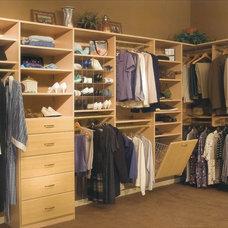 Modern Closet Organizers by Carolina Closet
