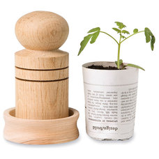 Contemporary Outdoor Pots And Planters by Gardener's Supply Company