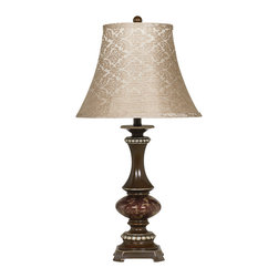 "Signature Design by Ashley - 31"" Set of 2 Rosemary Table Lamps Bronze - Famous Brand Lamps feature distinctive and bold designs at super low LampsUSA prices. Each Famous Brand lamp features a unique vision of artistic beauty that perfectly accessorizes with your furniture. And because its Famous Brand, you will pay less than you expect."