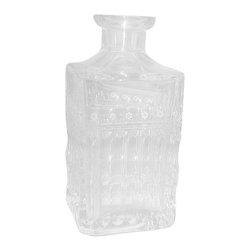Varga - Varga Art Crystal  Barcelona Whiskey Decanter W/O Stopper - Varga Art Crystal  Barcelona Whiskey Decanter W/O Stopper