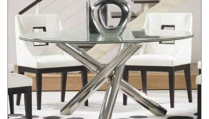 Star International Gotham Round Dining Room Table