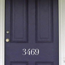 Traditional House Numbers by Etsy