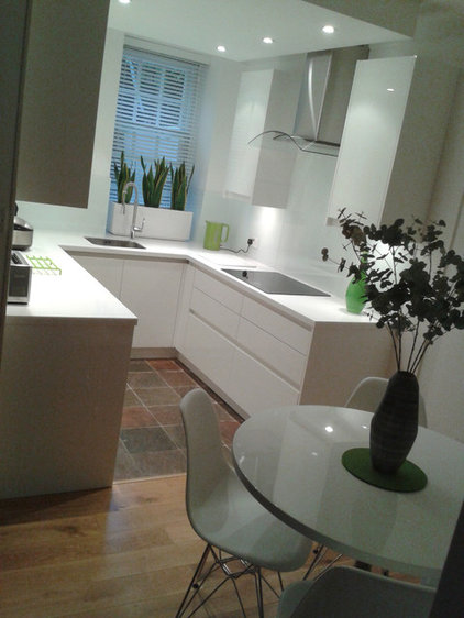 Modern Tile by Glass Kitchen Splashbacks UK