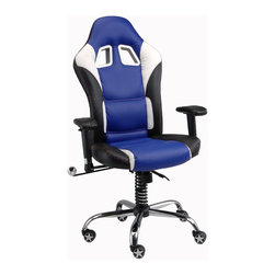 Pitstop Furniture - Pitstop Navy SE Office Chair - Pitstop Navy SE Office Chair