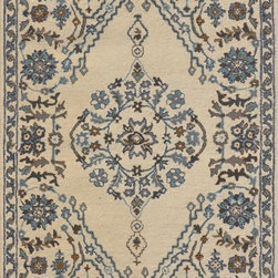 Dynamic Rugs - Dynamic Rugs Sapphire 8X11 4924-199 Ivory/Grey - Ancient inspirations brought together with a contemporary color palette define the Sapphire Collection. These rugs are the height of transitional styling with accessible designs and patterning, accented beautifully with rich, updated colors. A gorgeous bridge between the past and present, the Sapphire Collection adds elegance and refinement in a relaxed and relatable atmosphere.