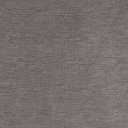 Grey Luxurious Microfiber Velvet Upholstery Fabric By The Yard - This luxurious velvet upholstery fabric is the real deal. This velvet can be used for all indoor upholstery needs, and will look incredible on any piece of furniture. It is also sure to last!