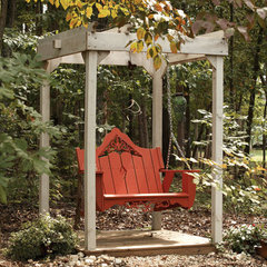 modern outdoor swingsets by PoshLiving