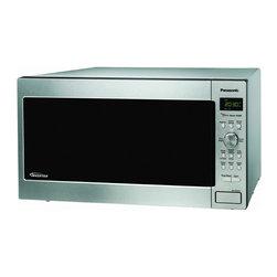 Panasonic - Panasonic NN-SD762S Stainless Steel 1.6-cubic-foot Genius Prestige Microwave Ove - Panasonic Genius Prestige NN-SD762S Microwave Oven
