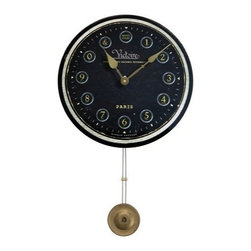 "Floating Circus - Victorie Pendulum Clock 13"" - Reproduced from an old advertisement clock this unique clock will grab"