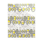 "Kess InHouse - Gill Eggleston ""Benin Yellow Grey"" Metal Luxe Panel (16"" x 20"") - Our luxe KESS InHouse art panels are the perfect addition to your super fab living room, dining room, bedroom or bathroom. Heck, we have customers that have them in their sunrooms. These items are the art equivalent to flat screens. They offer a bright splash of color in a sleek and elegant way. They are available in square and rectangle sizes. Comes with a shadow mount for an even sleeker finish. By infusing the dyes of the artwork directly onto specially coated metal panels, the artwork is extremely durable and will showcase the exceptional detail. Use them together to make large art installations or showcase them individually. Our KESS InHouse Art Panels will jump off your walls. We can't wait to see what our interior design savvy clients will come up with next."