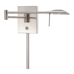 P4328 LED Swing Arm Wall Sconce by George Kovacs -