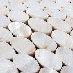 8mm Mother of pearl tiles kitchen backsplash PEM0037 - Collection: Mother of Pearl Tile