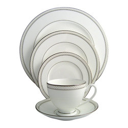Waterford - Waterford China Padova 5-Piece Place Setting - Waterford China Padova 5-Piece Place Setting