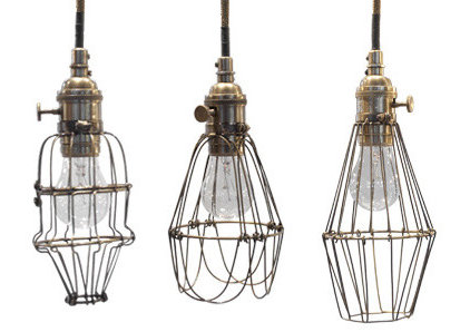 Eclectic Pendant Lighting by Jayson Home