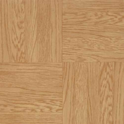 Armstrong World Industries - Armstrong Vinyl Tile Light Oak - Light Oak, Low Gloss