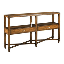 EuroLux Home - New Console Table  Brown/Beige/Tan - Product Details
