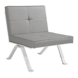 Eos Lounge Chair - Grey -