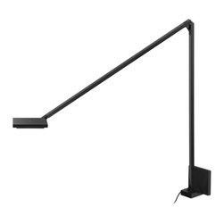 Sonneman - Sonneman 2052.63 Quattro Double Arm LED Wall Sconce - Black - Finish: Black