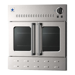 """BlueStar 36"""" Single Wall Oven- Gas Oven - Stainless Steel"""