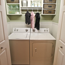 Traditional Laundry Room by Kirsten Danielle Design